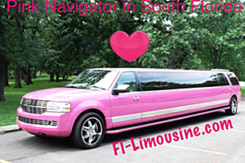 Pink Limo South Florida