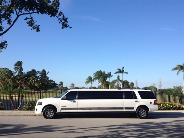 pompano-beach-white-limo