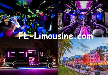 Miami Dade County Party Bus