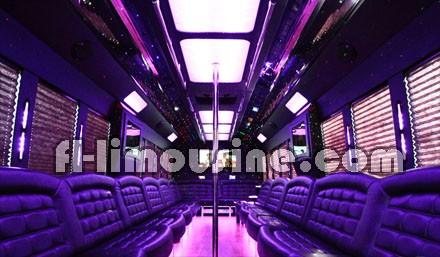Party Bus Services in Hollywood, FL