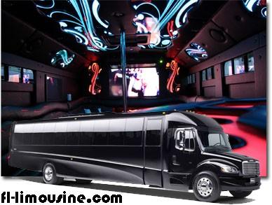 Party Bus Services in Orlando