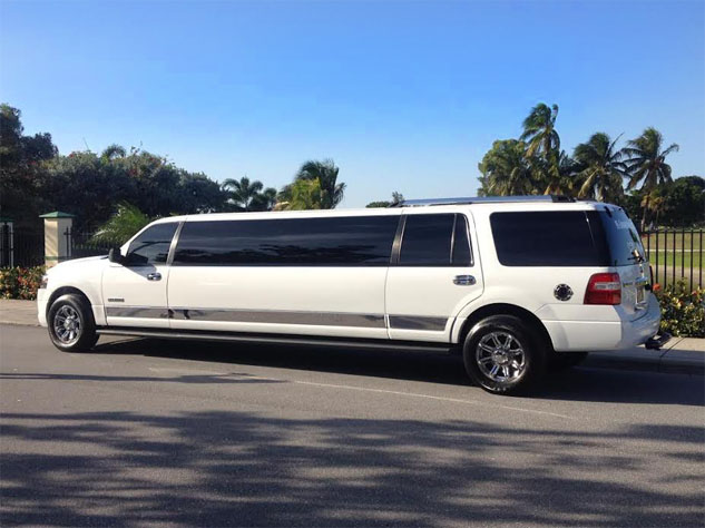 white-ford-wedding-limo