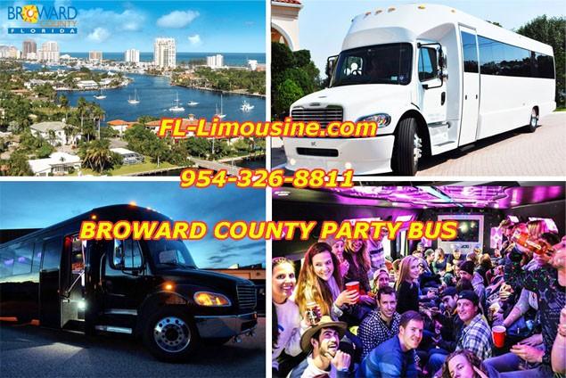 Broward County Party Bus